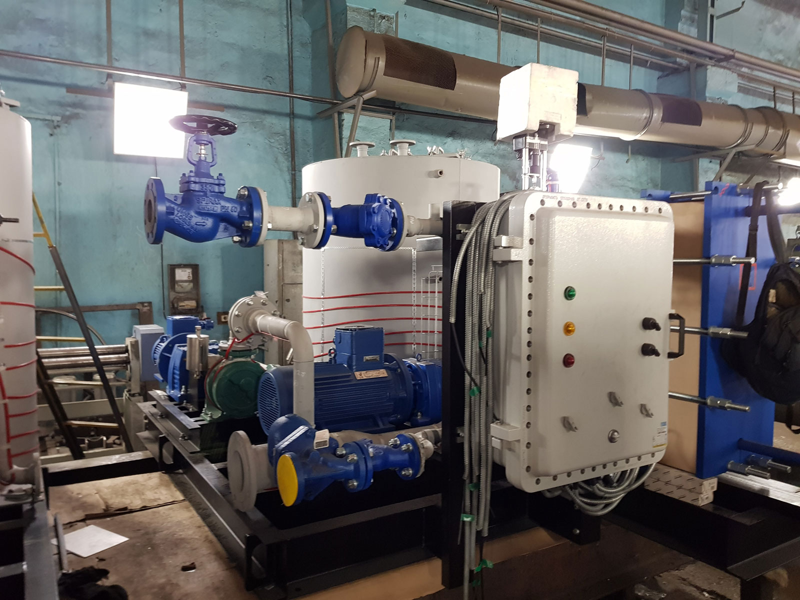 Установка для слива вязких продуктов МНСМ-1 Вихрь